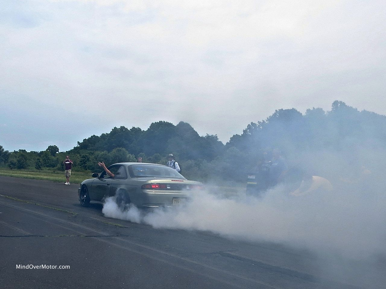 Nissan 240SX LS1 Burnout Rear