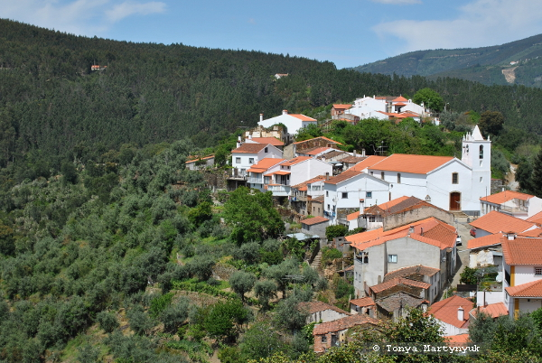 10 - округ Каштелу Бранку - неизвестная Португалия