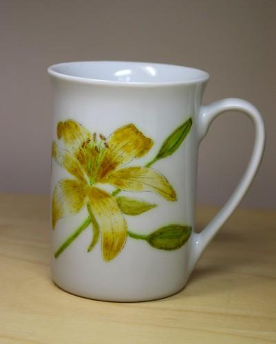 mug front view