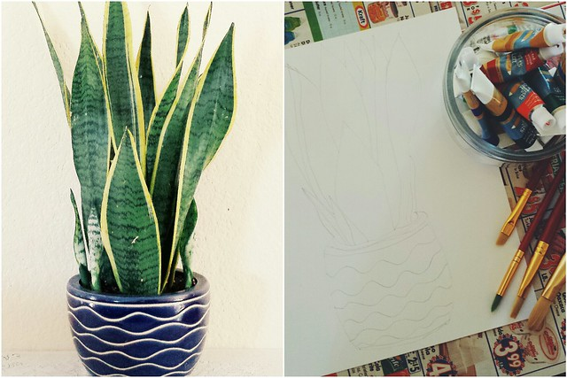 workspace wednesday: plant portrait