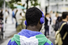 Man with Headphones Ⅱ