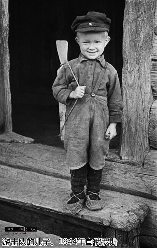 伟大卫国战争中的儿童70