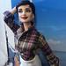 Audrey Hepburn Sabrina doll By Cyguy doll by Cyguydolls
