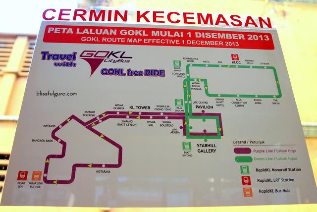 Kuala Lumpur Malaysia GO KL Bus
