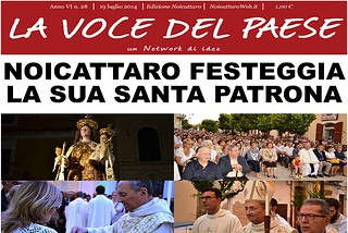 Noicattaro. Prima pagina n. 28-2014 front