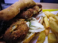 Falafel and fries