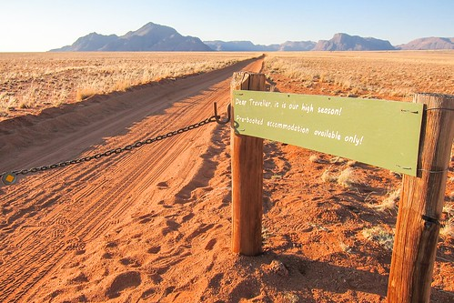 High season in Namibia