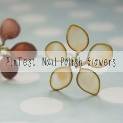polish flowers