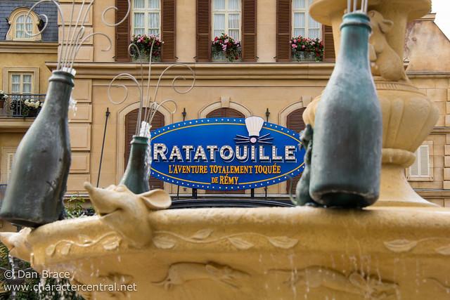 Exploring the brand new Ratatouille area