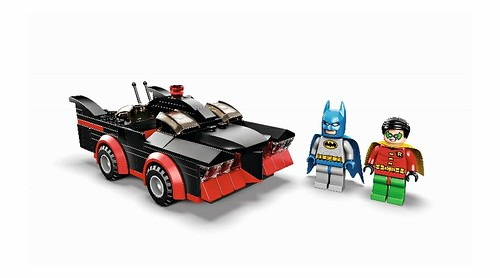 SDCC 2014 LEGO TV Series Batmobile