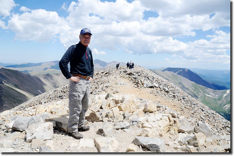 Me on the summit of Grays Peak