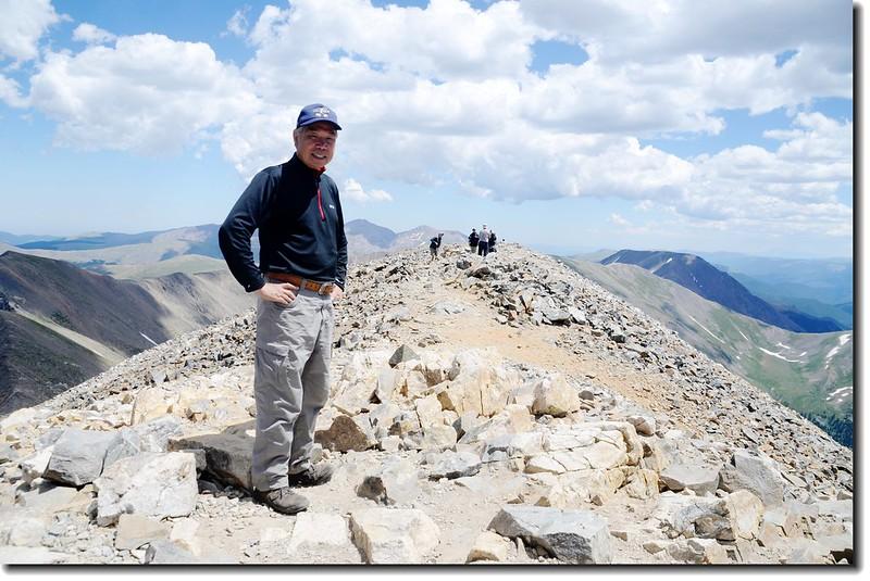 Me on the summit of Grays Peak