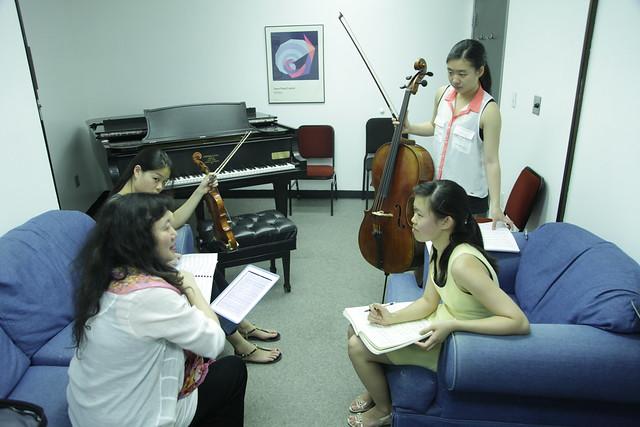 Brahms backstage