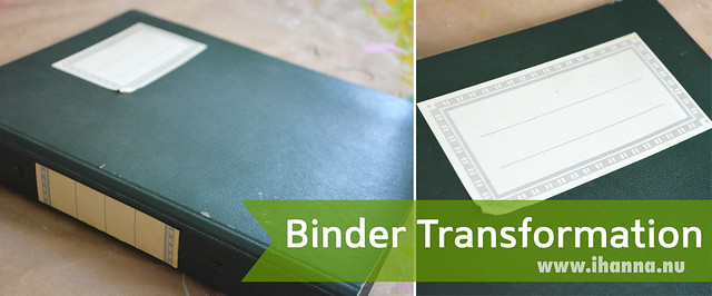 Ring Binder Transformation/Altering