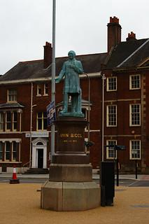 John Biggs Statue