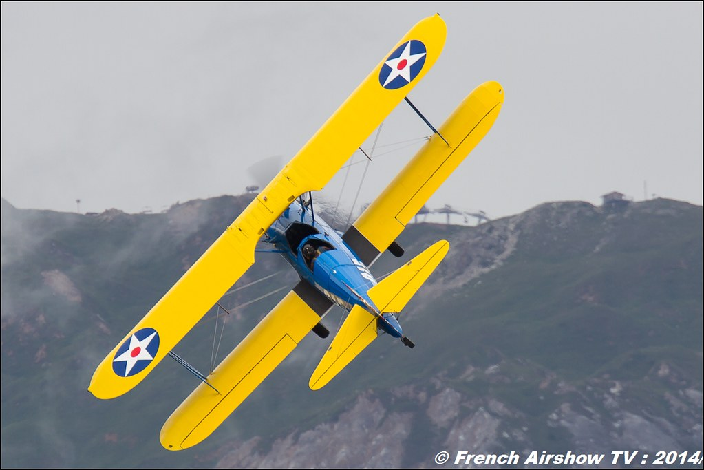 PT-17 Stearman Roanne,Stearman Chronographe Dodane 1857, jacque Aboulin, courchevel 2014