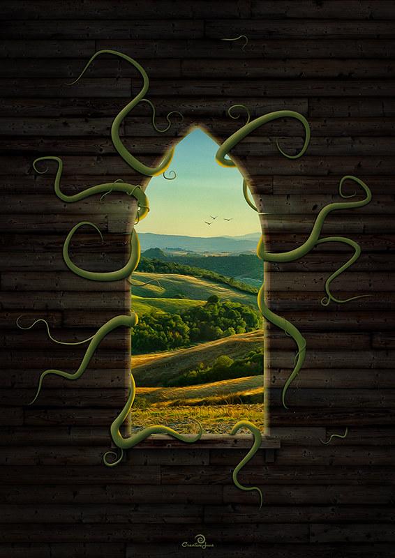 Window Digital Art