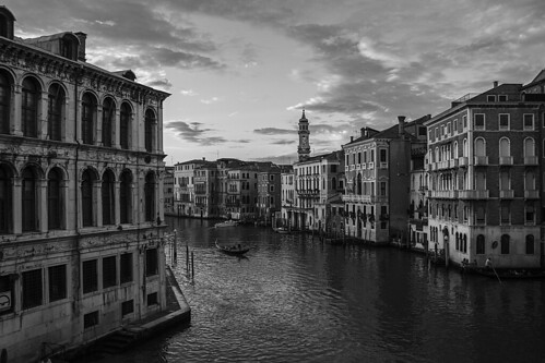 Magnificent Venice in black and white