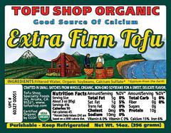 Organic Extra Firm Calcium Tofu