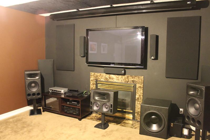 Derrick S Living Room Home Theater Conversion Avs Forum