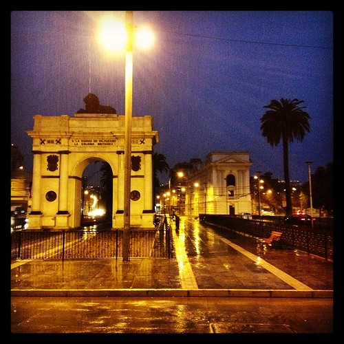 Madrugada lluviosa en Valparaíso #chile #morning #rain #world #winter