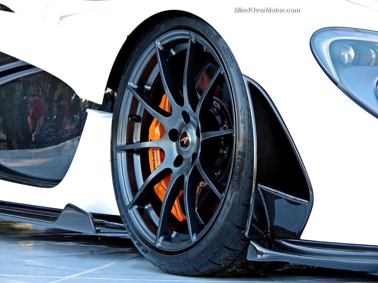 McLaren P1 Wheel at Amelia Island