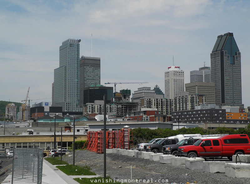 Montreal from Bassins du Havre