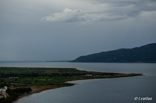 sea nature clouds tranquility nafpaktos