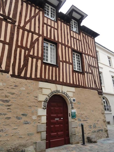 La ville de Rennes (Bretagne, Ille-et-Vilaine, France)