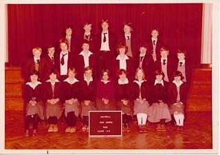 Holywell High School 1980 Class 4-9