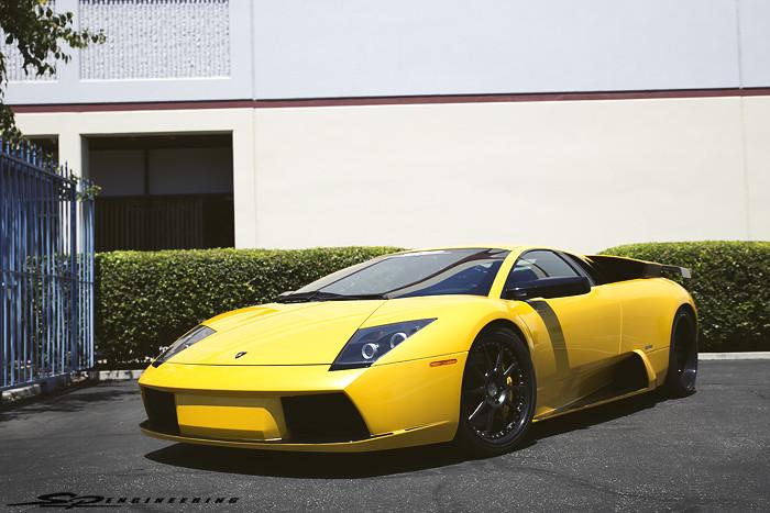 Allan Lambo's Yellow Murcielago