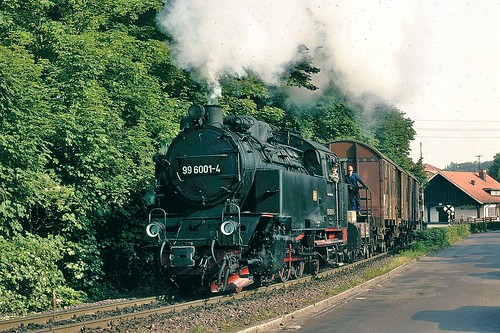 99.6001 leaving Wernigerode for with a goods service