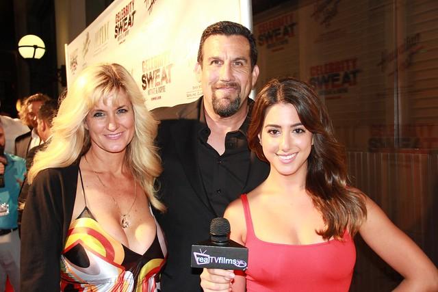 John McCarthy, Nicole Brajer, Celebrity Sweat, ESPY Awards Party