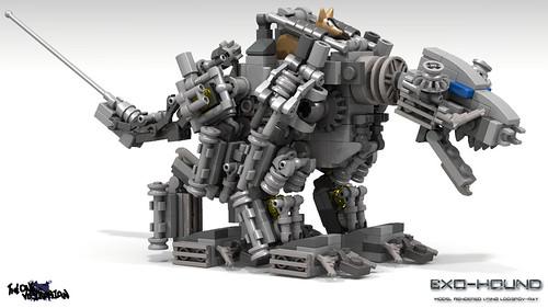 LEGO Mecha/Hardsuit - Exo-Hound