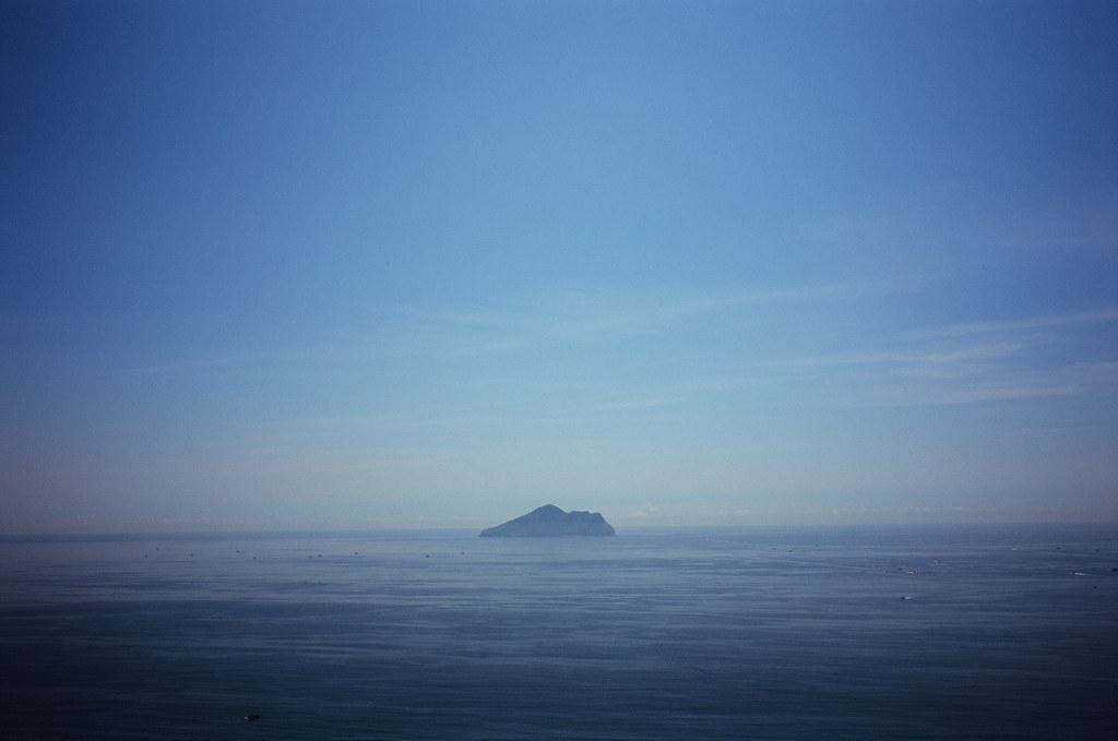 飛行傘 + 龜山島