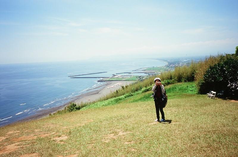 飛行傘 + 海岸線