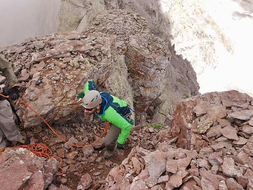Seth Summitting Dallas Peak