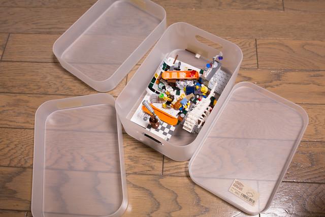 レゴ作りのための道具