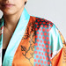Satin Robe by Spoonflower Fabrics