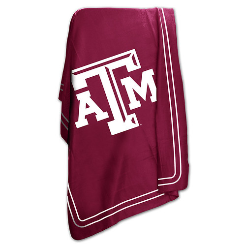Texas A&M Aggies NCAA Classic Fleece Throw