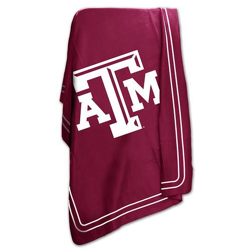Texas A&M Aggies NCAA Classic Fleece Throw