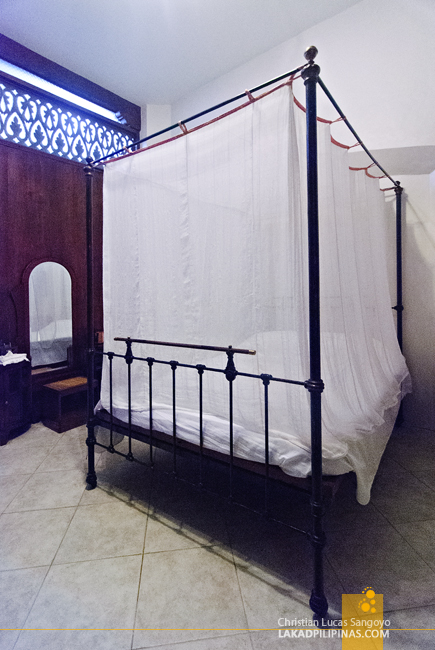 The Tom Cruise Bed at Casa Caridad in Vigan City
