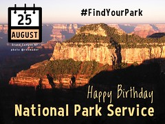 August 25 is Founder's Day for the National Park Service @GoParks @NatlParkService @ParksTraveler #findyourpark