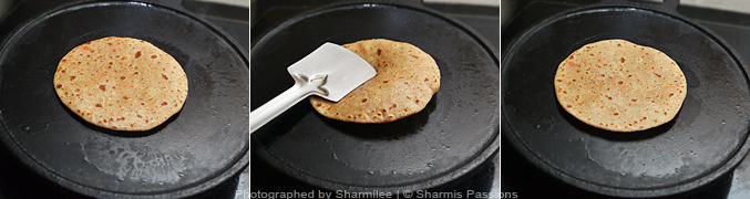 Carrot Cheese Paratha - Step6