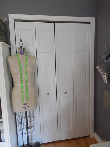Sewing Room:  closet