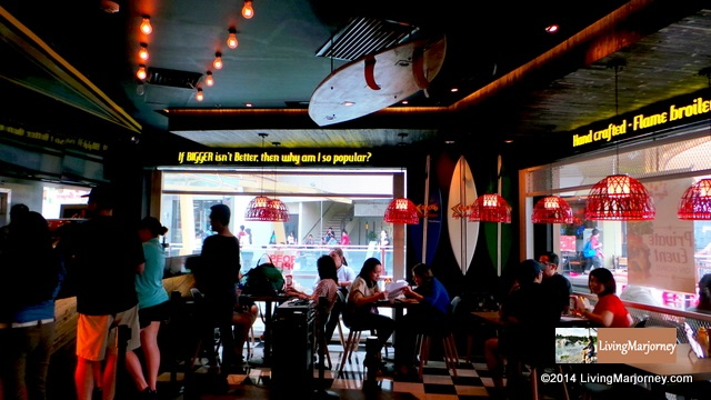 Teddy's Bigger Burgers Opens in Manila