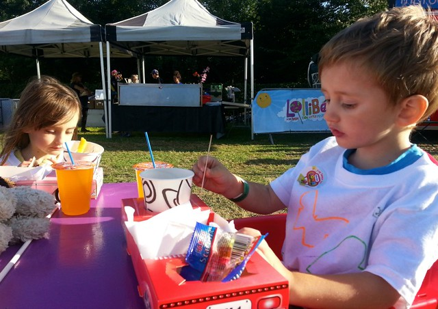 Food at LolliBop 2014, LolliBop festival review