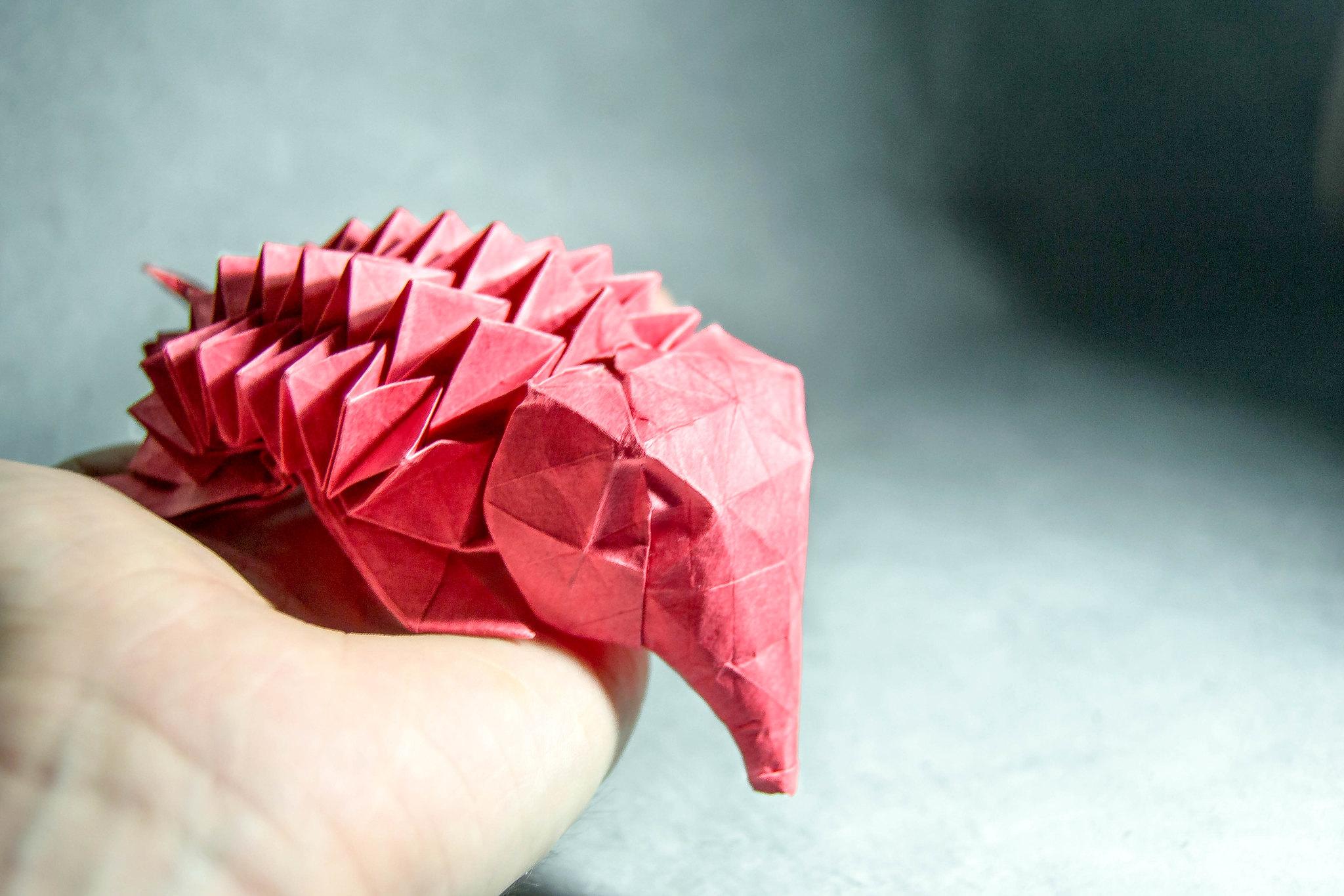 Origami Baby Hedgehog - Eric Joisel