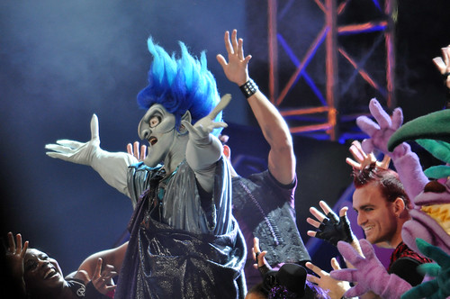 Villains Roll Call - Hades gets crowd stirred up