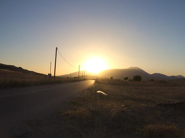 ...Bis zum Sonnenuntergang